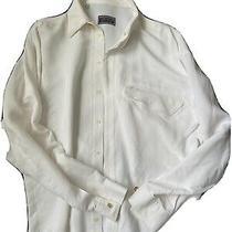 Vintage 80s Versus Gianni Versace Dress Shirt White 16/41 Photo