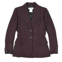 Vintage 80s Yves Saint Laurent Rive Gauche Womens Blazer Jacket Wool 36 / Us6 Photo