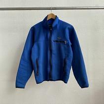 Vintage 90's Patagonia Zip Up Jacket Blue - Medium Photo