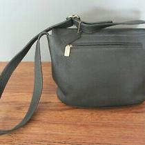 Vintage 90s Coach Sonoma Flap Bag Crossbody Purse - Pebbled Black Leather 4903 Photo