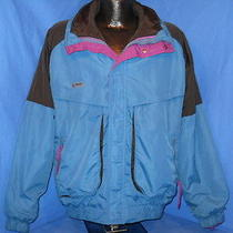 Vintage 90s Columbia Radial Sleeve Reversible Two Piece Ski Winter Jacket Lrg L Photo
