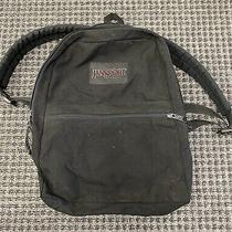 Vintage 90s Jansport Made in Usa Black Light  Backpack 1990s Photo