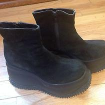 Vintage 90s Platform Boots. Spicegirls Goth Grunge Unif Jeffrey Campbell Photo