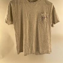Vintage 90s T Shirt Large Guess Jeans Pocket Tee Made in Usa Grey Gray Single Photo