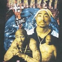 Vintage 90s Tupac Shakur 2 Pac the Seven 7 Day Theory Rap Bootleg T-Shirt Xxl W Photo