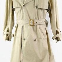 Vintage Abercrombie & Fitch Men's Trench Coat Rare Photo