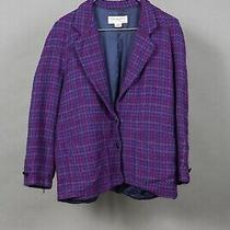Vintage Acne Womens Helmut Christian Dior Petite Wool Jacket Tweed 90's Amazing  Photo