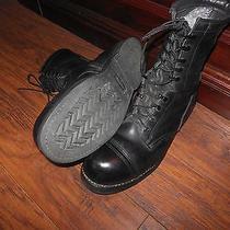 Vintage Addison Boots Steel Toe Biltrite Combat Grunge Military Work Size 11.5 W Photo