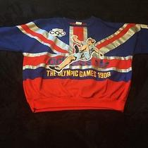 Vintage Adidas 1908 London Olympic Games Crewneck Size Xl (Deadstock) Photo