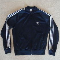 Vintage Adidas Breakdance B Boy Rap Hip Hop Trefoil Navy Blue Track Jacket M Photo