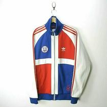 Vintage Adidas Dominican Republic Men's Track Jacket Size M in Red / Blue Ef6799 Photo