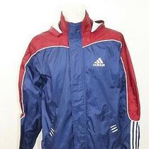 Vintage Adidas Men's Shell Hood Waterproof Outdoor Jacket Sz S Photo
