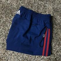 Vintage Adidas Mens Running Shorts Size 30 (W36xl11xr10) Blue Red Striped Photo