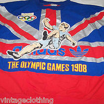 Vintage Adidas Sweatshirt Xl London Olympic Games 1908 Crewneck Retro Photo