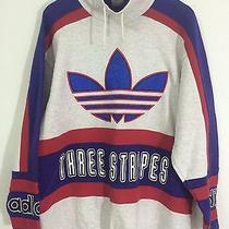 Vintage Adidas90 Hiphop Rap Olympics Graphic Sweatshirt Sweater Crew Rare Photo