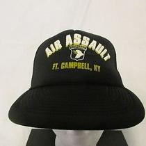 Vintage Air Assault Airborne Ft. Campbell Ky Snap Back Mesh Hat Photo