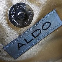 Vintage Aldo Mother of Pearl Button Purse Handbag Unique for Restoration Photo