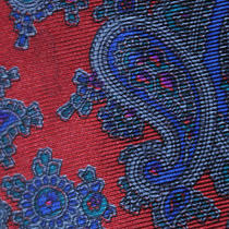 Vintage American Briar Editions Silk Tie Griffin Smith  Paisley Classic  Photo