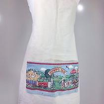 Vintage American County Fair Kitchen Apron One Size Photo