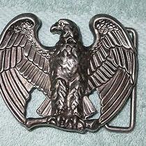 Vintage American Eagle Avon Belt Buckle  Photo
