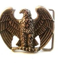 Vintage American Eagle Belt Buckle by Avon Photo