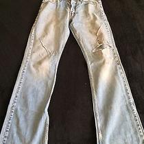 Vintage American Eagle Jeans 32x36 Retro Holey Photo