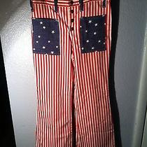 Vintage American Flag Bellbottoms Photo
