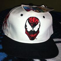 Vintage American Needle Marvel Comics Blockhead Carnage Spiderman Venom Snapback Photo