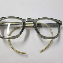 Vintage American Optical Cable Temple Plastic Eyeglasses Photo