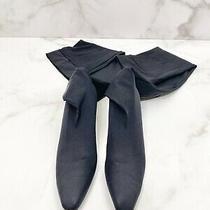Vintage Anne Klein Kitten Heel Thigh High Stocking Boot. Size 37.5 Photo