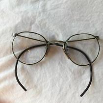 Vintage Antique American Optical Possibly White Gold Filled Eyeglasses Bifocals Photo