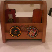 Vintage/antique Shoe Shine Kit Excellent Condition by Esquire Footman Deluxe Photo