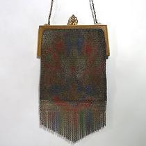 Vintage Antique Whiting Davis Mesh Purse Handbag Photo