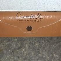 Vintage Ao American Optical Cosmetan Clip-on Sunglasses With Case Very Nice Photo