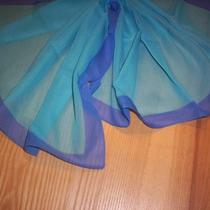 Vintage Aqua and Blue Scarf Photo