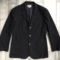 Vintage Armani Jeans Dark Brown Blazer Sport Coat Jacket Made in Italy 52 Uk42  Photo