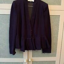 Vintage Armani Purple Jacket It48 Uk16 Photo