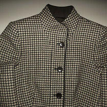 Vintage Armani   Womens Jacket  Blazer  Size 4 Beige Made in Italy  T338 Photo