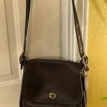 Vintage Authentic Coach Brown Leather Purse With Matching Coach Wallet Photo