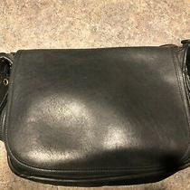 Vintage Authentic Coach Patricia Legacy 9951 Black Leather Crossbody Purse Bag Photo