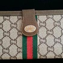 Vintage Authentic Gucci Plus Billfold Wallet/ Clutch Photo
