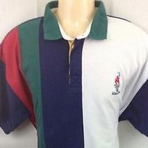 Vintage  Avon 1996 Olympic Games Atlanta Large Polo Shirt Multi -Colored (Bnib) Photo