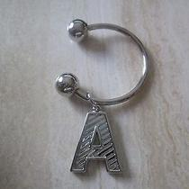 Vintage Avon a Initial Key Ring New in Box 1987 Photo