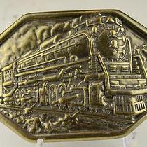 Vintage Avon Antique Steam Train Belt Buckle Photo