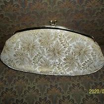 Vintage Avon  Clutch Bag Makeup Purse and Compact  Evening Lights by Kadin Photo