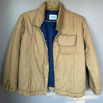 Vintage Avon Coat Jacket Tan/brown Quilted Light Weight Coat Front Pocket Photo