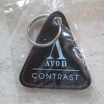 Vintage Avon Contrast Key Ring New 1992  Fsc 0837-1 Photo