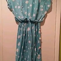 Vintage Avon Dress Size 5/6 Medium Dress Blue Dress Mod Cloth Like Dress Photo