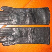 Vintage Avon Ladies Leather Gloves Sz 6 1/2 Euc Fds Photo