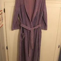 Vintage Avon Lavender Chenille Full Length Bathrobe With Belt Sz Medium Guc Photo